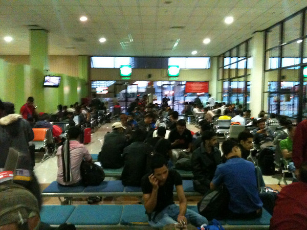 Departure Gate at KLIA